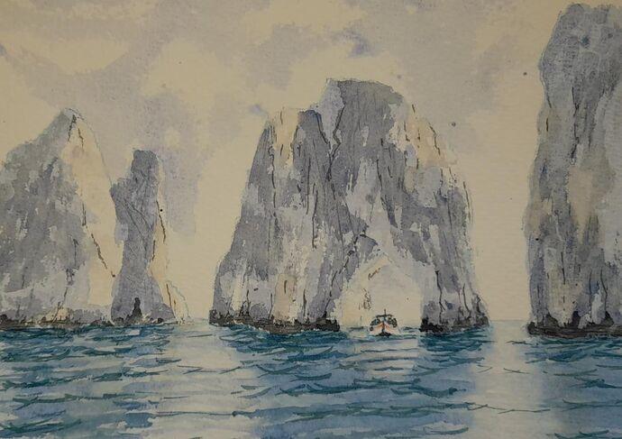 Capri, Through the Needle