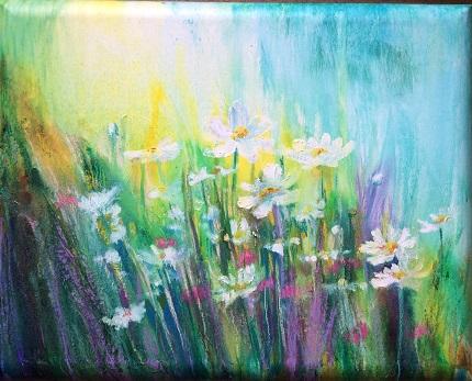 Daisy Meadow 2 Acrylic