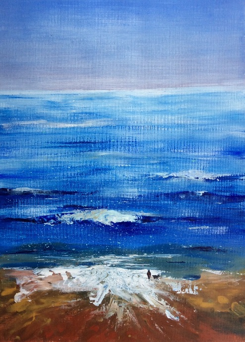 Seascape - acrylic