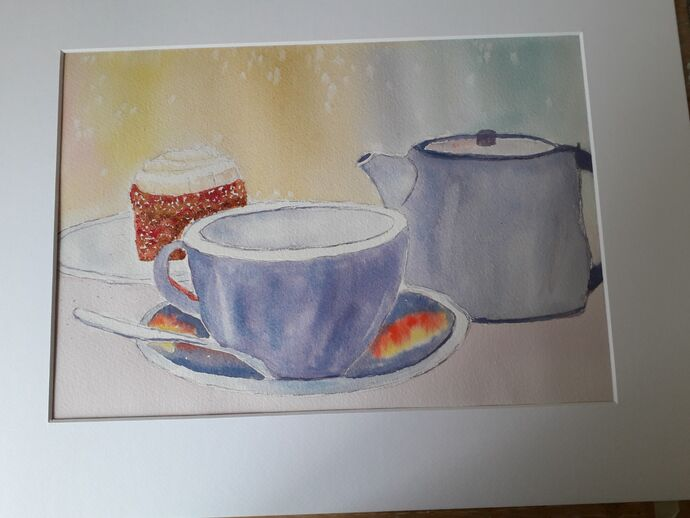 Cup of Tea and Cake