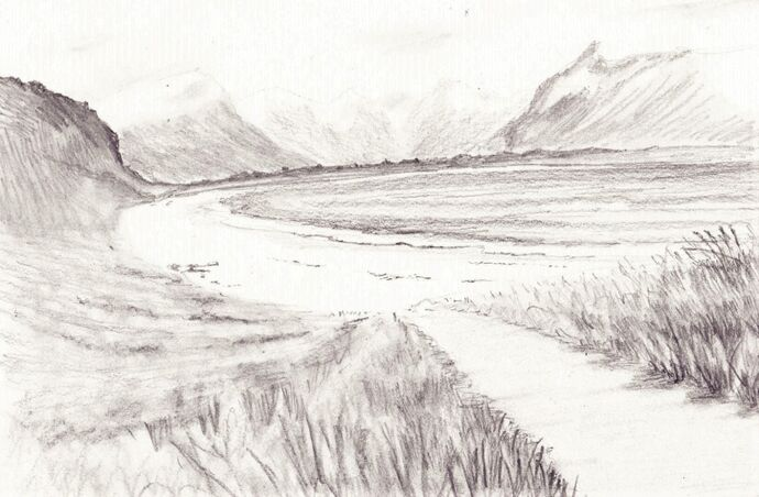 Drawing Landscape