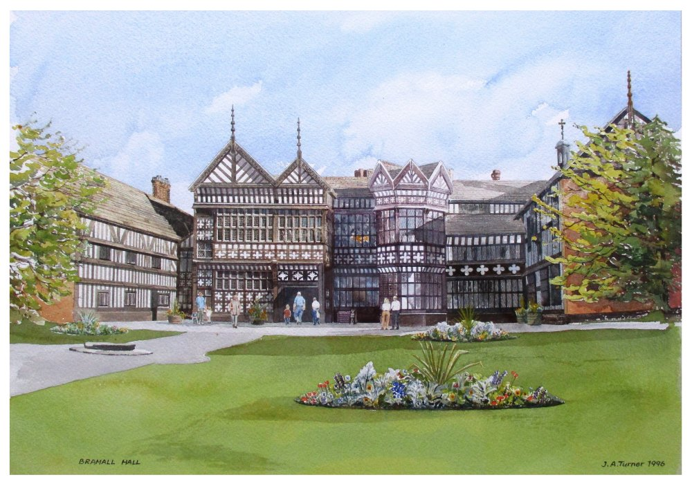 Bramall Hall by John Turner