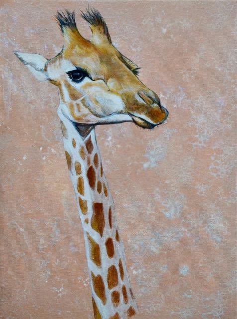 Giraffe by Desiree Hart