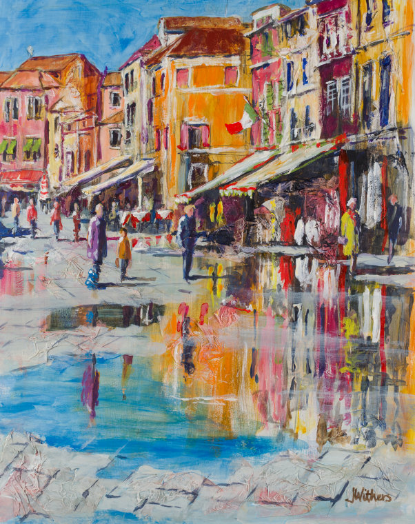Burano by Joy Withers