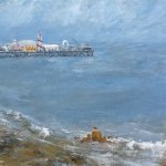 """""""The end of the pier"""" by Lesley-Ann Gotts"""