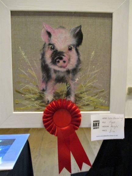 Little pig wins for Lisa