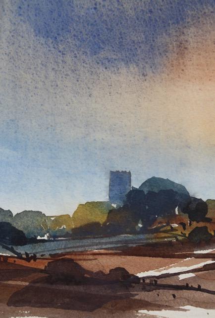 """""""Devon Field"""", sketch by Paul Witton"""