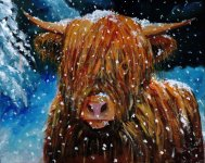 The chilly cow by Pauline Lovell