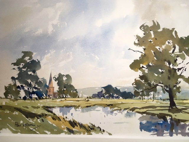 Somewhere in the Cotswolds by Paul Witton