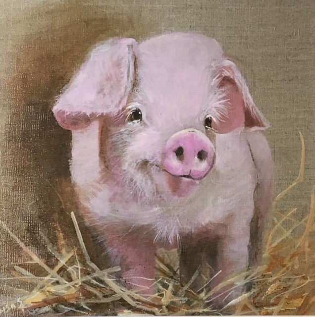 Piglet by Lisa Shearing