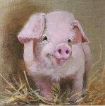 Piglet by Lisa Shearing