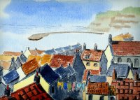 Staithes by Erica Biggs