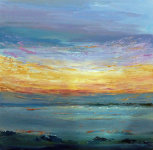 Sunset breakwater by Susie Olford