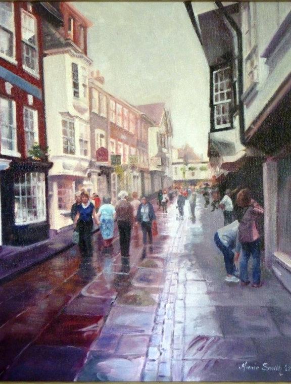 The Shambles, York by Annie Smith