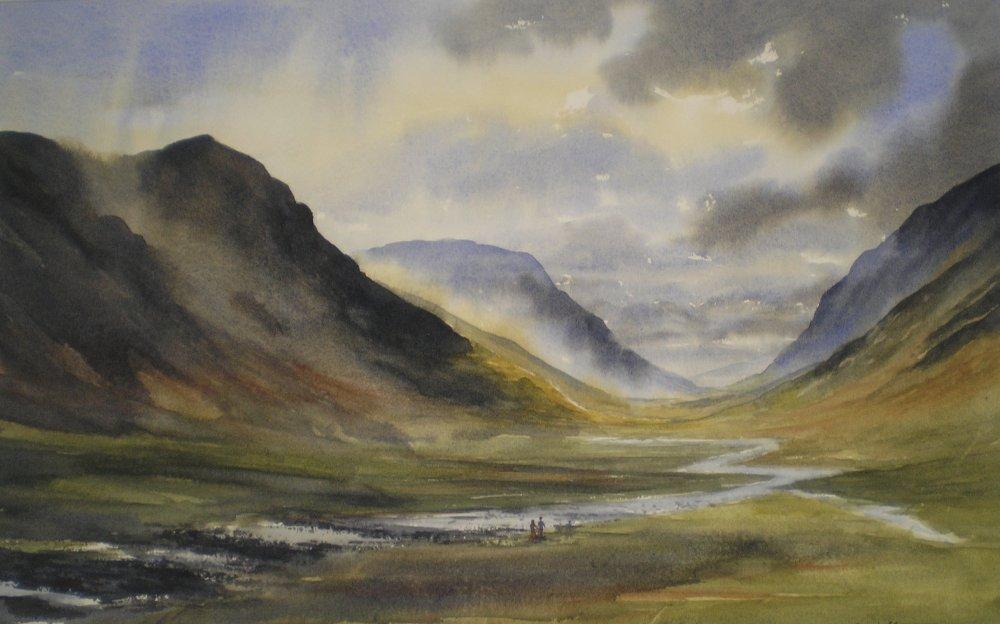 Alone in the Glen by Brien Howard