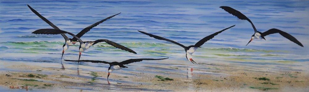 Beach squadron by Pat Duff