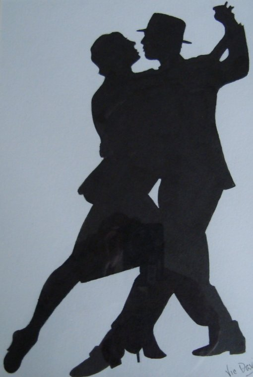 Flirty dancing by Vic Davis