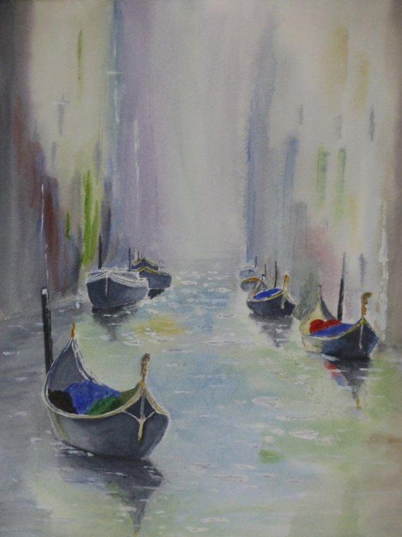 Dreamy Venice by Laurie Hearn