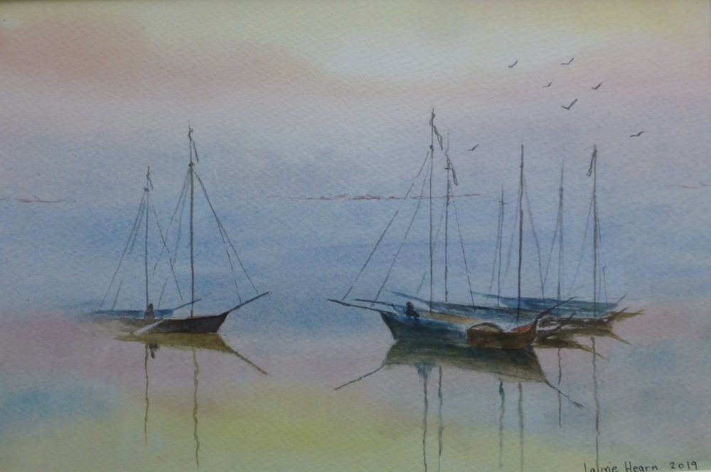 Evening calm by Laurie Hearn