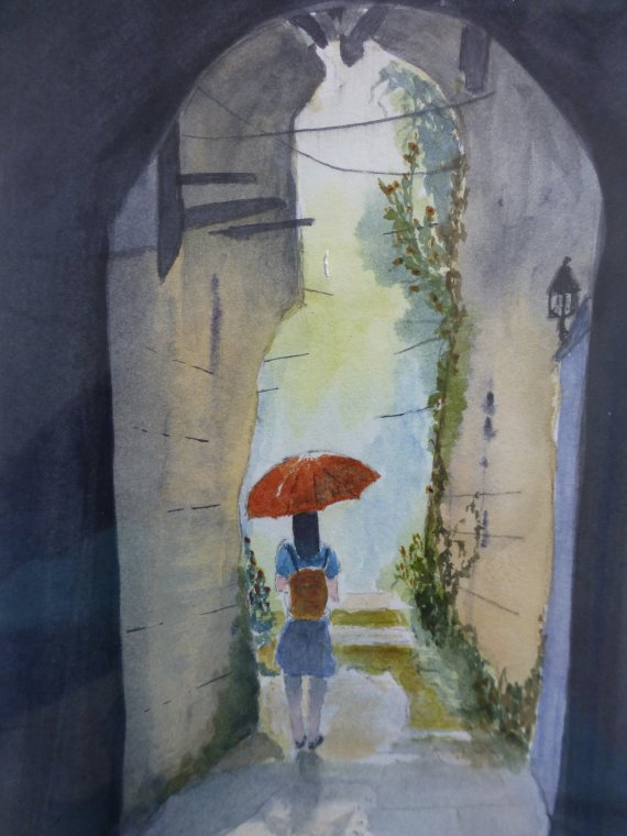 On my way home by Laurie Hearn