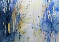 """Light in the woods"" by Caryl Smith"
