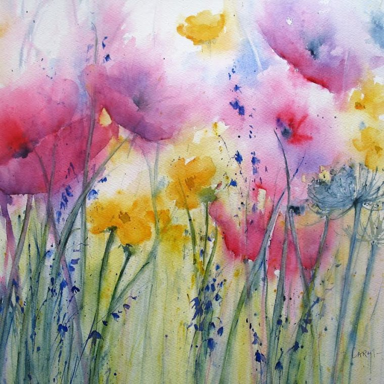 """""""Country colours"""" by Caryl Smith"""