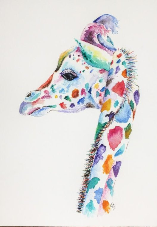 """Giraffe"" by Nina Bryant"