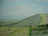 Southdowns Way by Vic Davis
