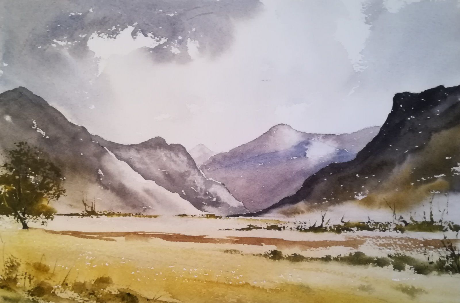 At the Foot of the Mountains - £195.00