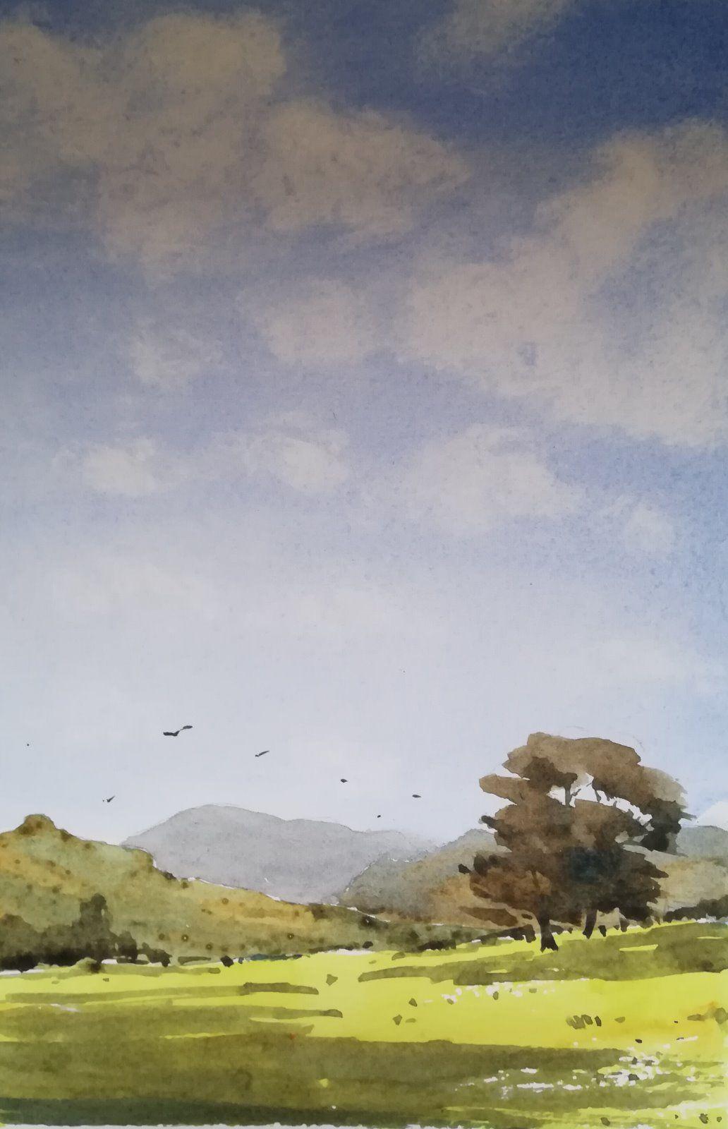 Cloud Shadows (portrait) - £50.00