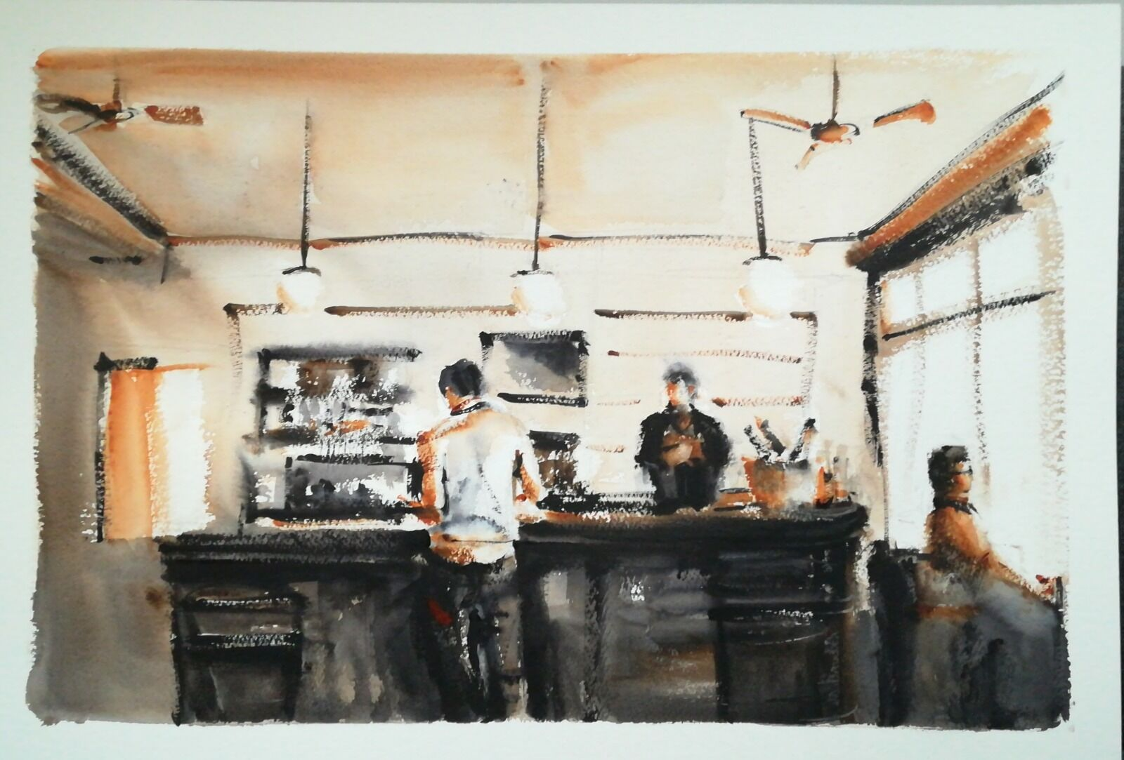Café de la Rooster £245