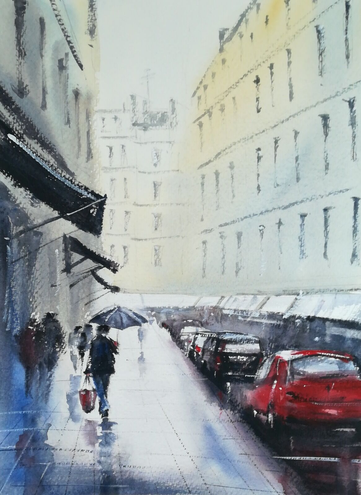 Rain Falls Paris £175.00