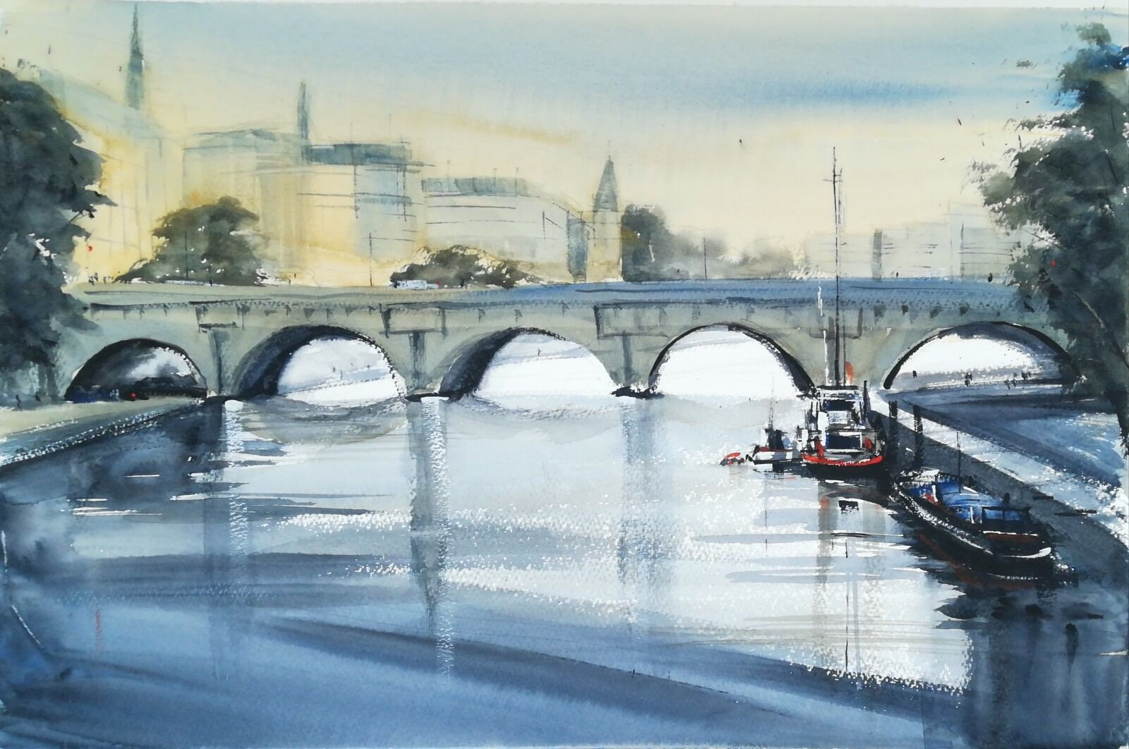 Pont Neuf, Paris (large) £285.00