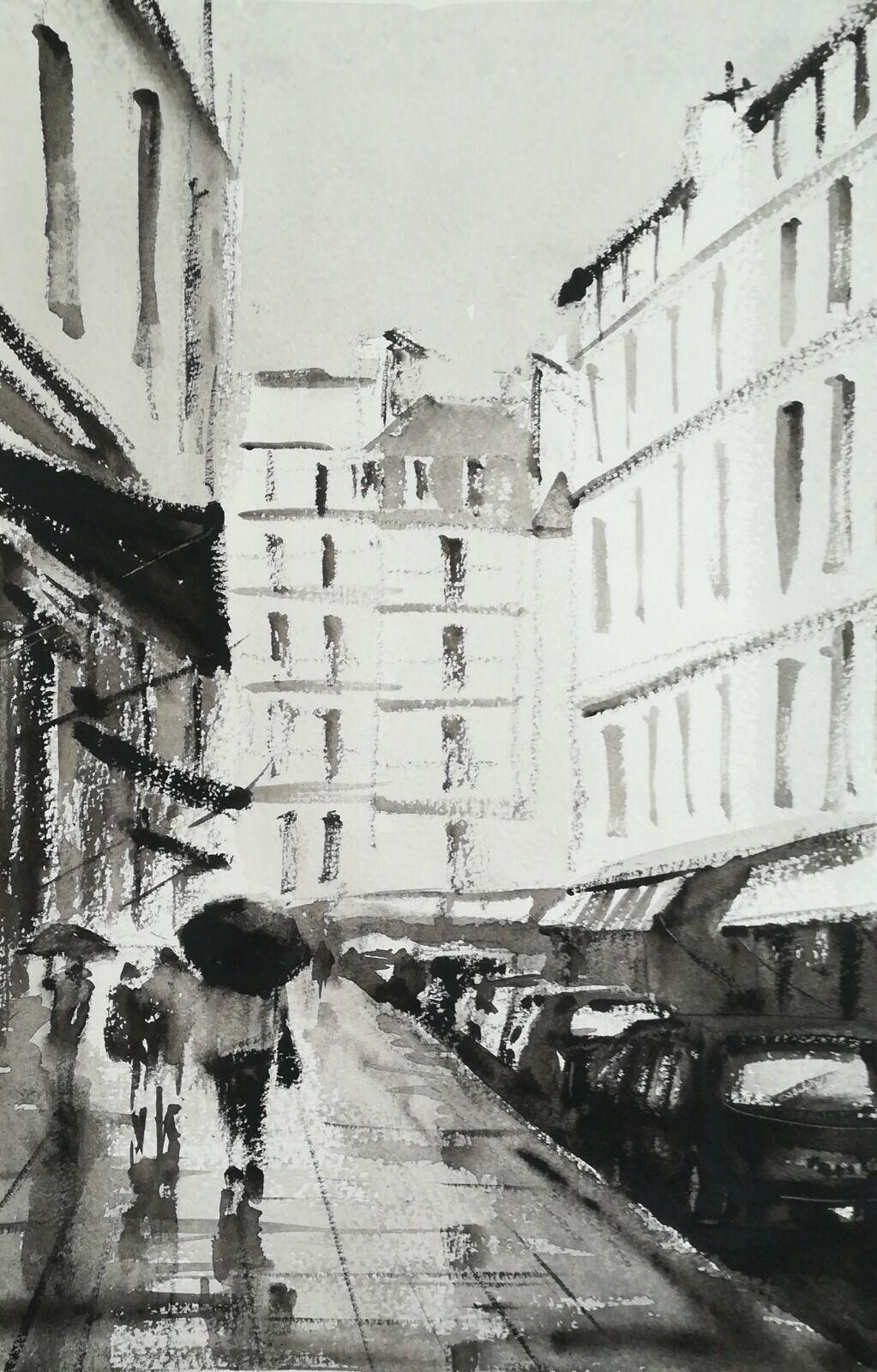 Rainy Days, Paris £150.00