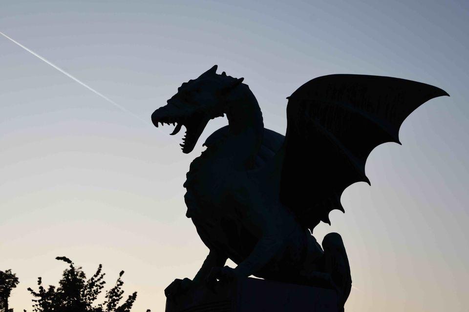 Dragon-symbol of Ljubljana