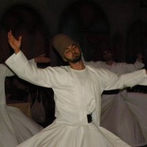 Sufi whirling,Istanbul,Turkey