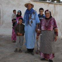 Family at village near Marrakesh,Morocco
