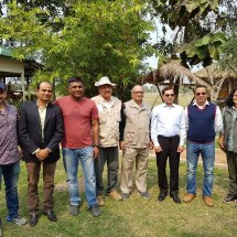 With Mentors and others at Y4C Workshop,Kaziranga,2018