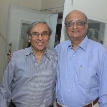 with Homi Khusrokhan,President BNHS