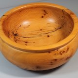 Unusual Pippy Yew bowl
