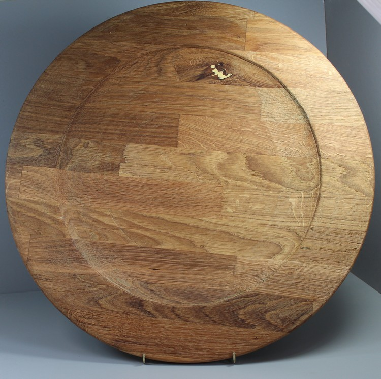 Large platter mixed woods