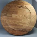 Large platter mixed woods