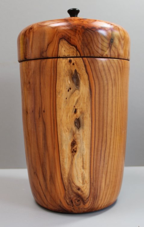 Urn in Yew (Not for sale)