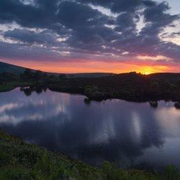 Gortin Lakes Sunset