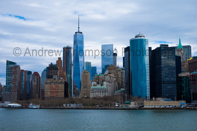 New York, from the Staten Island Ferry