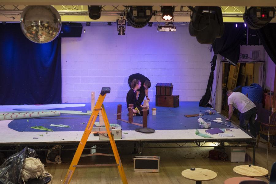 Dismantling the set