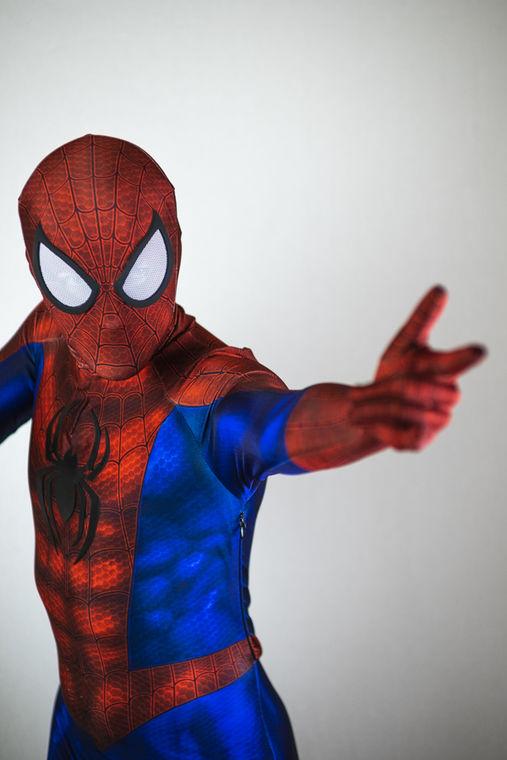 Spider like Super Hero