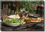 Dine 'al fresco' / repas 'en plein air'