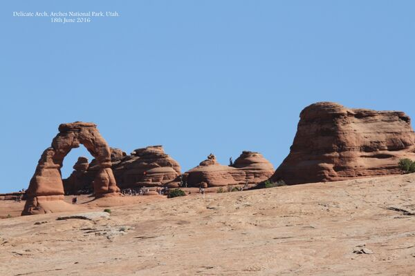 Delicate Arch ~ Arches National Park