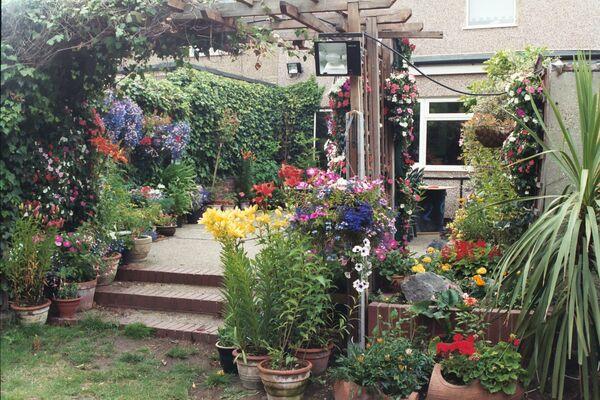 July ~ Garden Patio